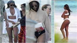 Michelle, Malia and Sasha Obama flaunt perfect beach body in Bikini