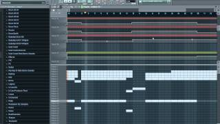 Benny Benassi - Satisfaction (DJ Dela Remake) in FL Studio