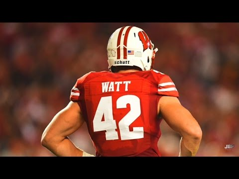Wisconsin LB TJ Watt 2016 Highlights ᴴᴰ