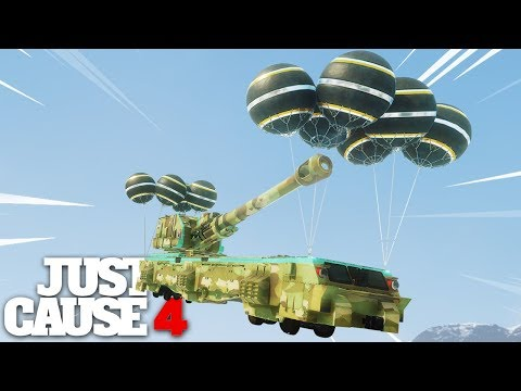 Just Cause 4 - SKY FORTRESS! |