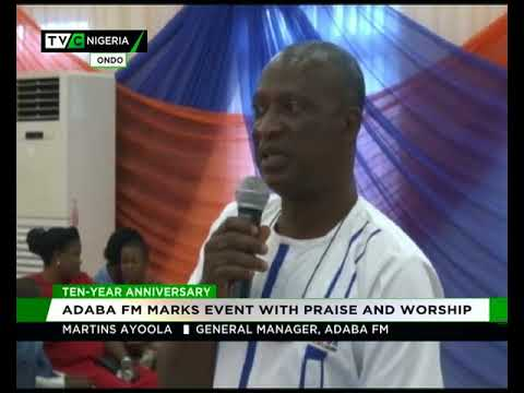 Adaba FM marks 10-year anniversary with praise and worship