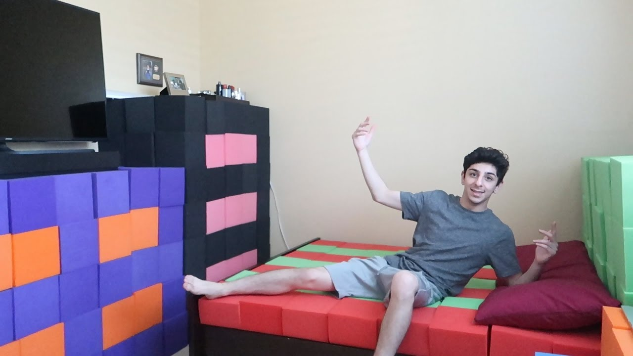 replacing-my-entire-bedroom-with-the-foam-pit