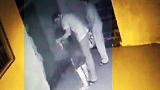 Caught on camera: NCP corporator assaults a young woman at Ratnakar Maharaj's ashram