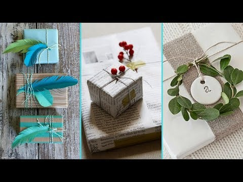 ❤ DIY Shabby chic style Gift Wrapping Ideas ❤ | Gift decor Ideas | Flamingo Mango|