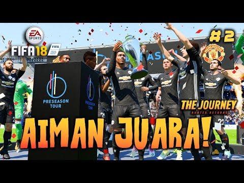 Aiman Juara Piala! Hat-Trick! (FIFA 18 Malaysia) - The Journey Hunter Return | Part 2