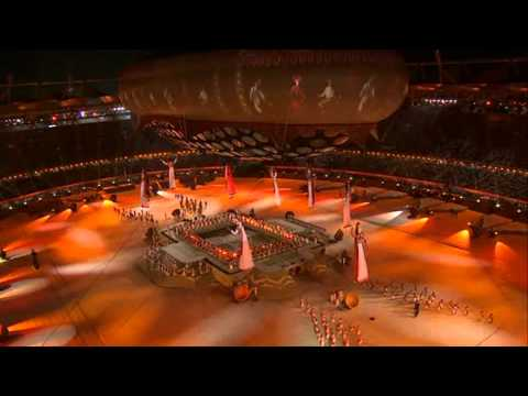 Commonwealth Games Delhi 2010 | Opening Ceremony | Full HD | 1080p | PART ( 3 / 15 )