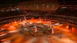 Commonwealth Games Delhi 2010   Opening Ceremony   Full HD   1080p   PART ( 3 / 15 )