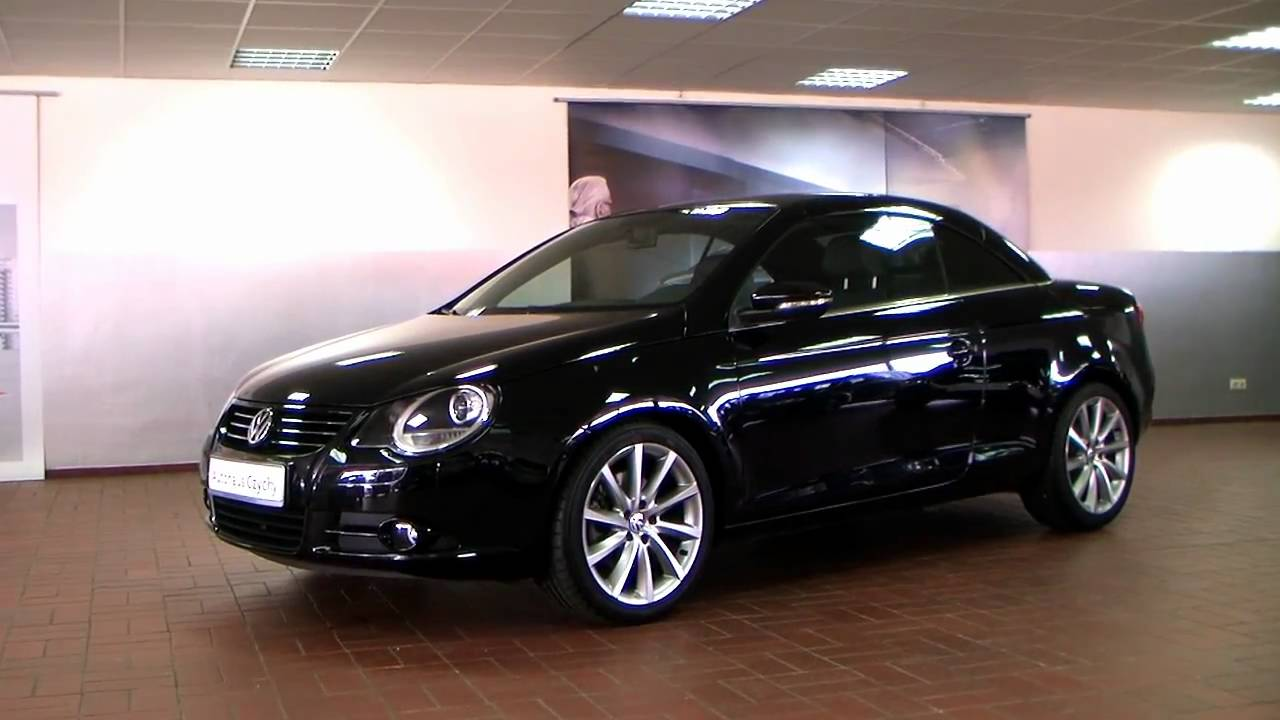 Volkswagen Eos 1.4 TSI GT Sport 2010 Deep black perleffekt AV020711 www.autohaus.biz/czychy ...