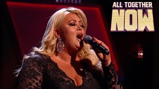 Gemma Collins stumbles in The Greatest Showman performance | All Together Now Celebrities