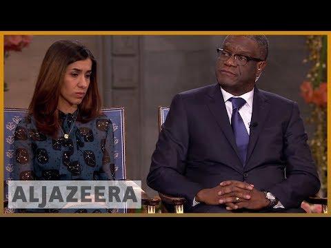 The Nobel Interview: Nadia Murad and Denis Mukwege   News Special