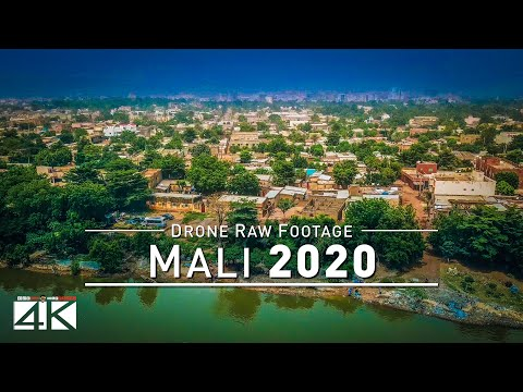 【4K】Drone RAW Footage | This is MALI 2020 | Capital City Bamako | UltraHD Stock Video
