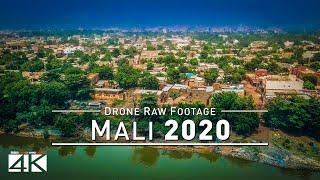 【4K】Drone RAW Footage | This is MALI 2020 | Capita...