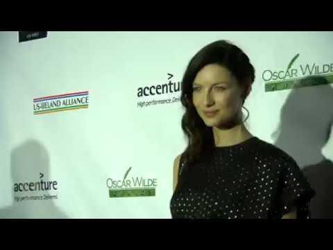 Outlander | Caitriona Balfe ~ Oscar Wilde Awards Red Carpet & w/ Fans