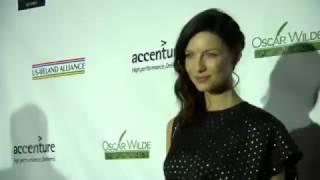 Outlander   Caitriona Balfe ~ Oscar Wilde Awards Red Carpet & W/ Fans