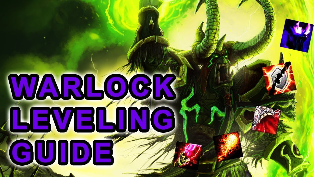 Classic Wow Warlock Leveling Guide Talents Rotation Pets Wand Progression Youtube