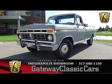 1977 Ford F-150 Gateway Classic Cars Indianapolis-1141