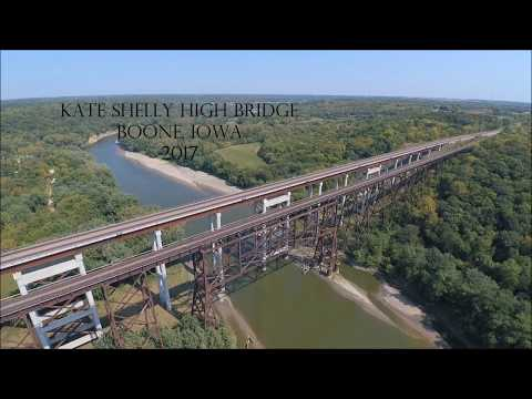 Kate Shelly High Bridge, Boone, Iowa Sept. 2017 w/ drone