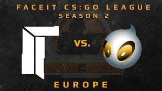 Titan vs Dignitas - de_mirage WEEK 6 (FACEIT CS:GO League Season 2)