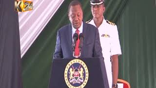 Police reforms : President Kenyatta unveils new command and control structure