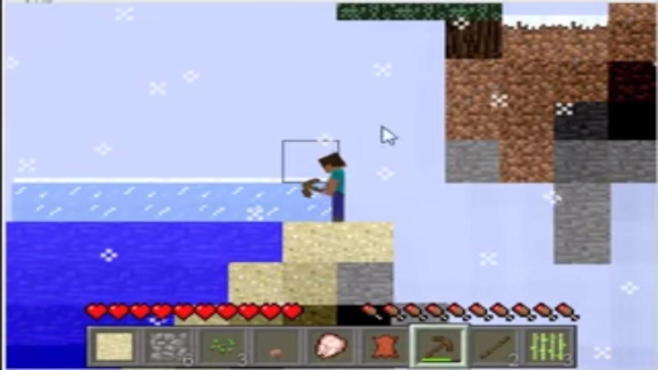 Minecraft 2D - MinecraftGamesFree.Co.Uk