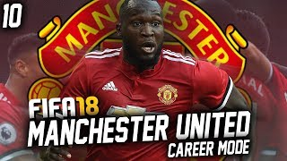 Fifa 18: manchester united career mode #10 - lukaku meets liverpool
