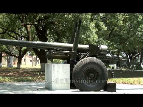 Battle toys on display: Inside the Indian Military Academy