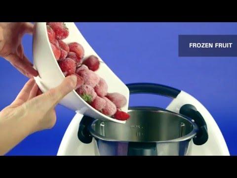 Strawberry Sorbet  - Thermomix ® TM5 Recipes
