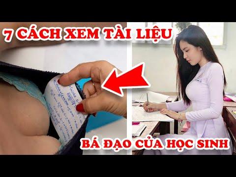 Tuổi Thơ Dữ Dội Với 7 Cách Xem Tài Liệu Bá Đạo Nhất Học Sinh Việt Nam Khiến Thầy Cô Bó Tay