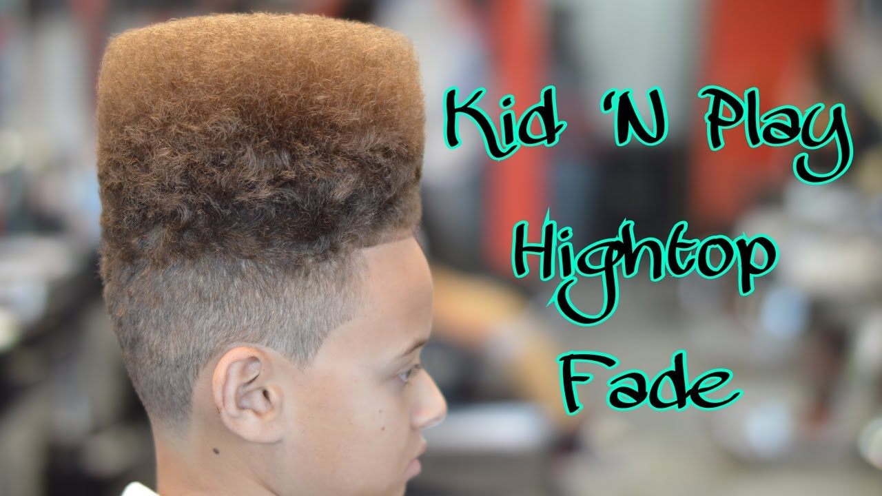 High Top Fade Oster Fast Feeds Kid N Play Youtube