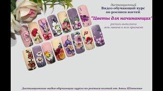 Видео курс по росписи ногтей