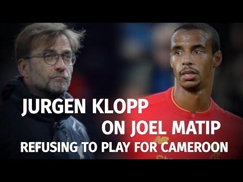 Jurgen Klopp Compares Joel Matip's Cameroon Row To Brexit