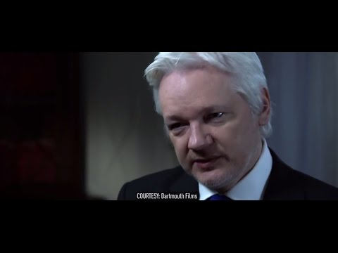 'Russia not behind Clinton leaks' – Assange interview with John Pilger (Courtesy Darthmouth Films)