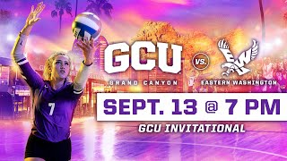 GCU Women's Volleyball vs Eastern Washington September 13, 2019