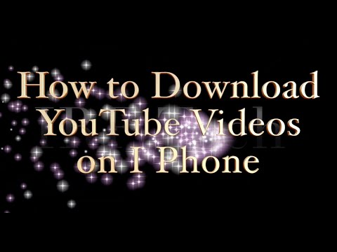 How To Download YouTube Videos On I Phone | Easy Two Methods