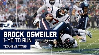 Brock Osweiler Improvises & Rushes for a TD! | Texans vs. Titans | NFL Wk 17 Highlights