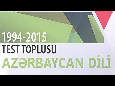 Azərbaycan Dili Test Toplusu Cavabları (1994-2015) 1 ve 2 ci hissə (DİM)