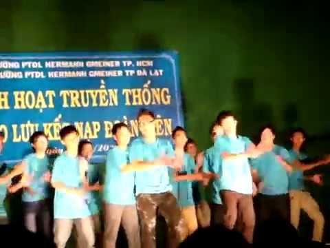 Dân vũ 10a3 Hermann Gò Vấp... Đà Lạt 2012