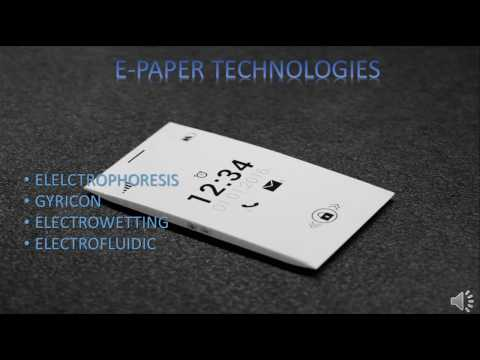 How does E-Paper display work?
