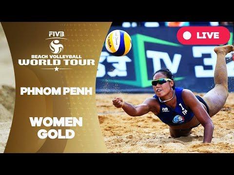Phnom Penh - 2018 FIVB Beach Volleyball World Tour - Women Gold Medal Match