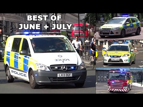 Emergency Services Responding - BEST OF JUNE + JULY 2017 -