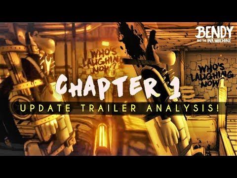 Bendy Chapter 1 Updates Trailer reveals MASSIVE CHANGES! (BATIM Chapter 1 update analysis)