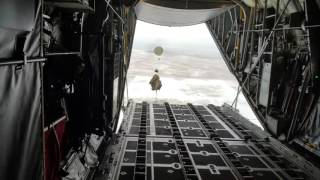 C-130 Heavy Equipment Airdrop