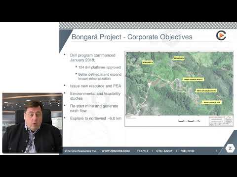 Zinc One: Further Exploration For New Resource Update & PEA In 2018