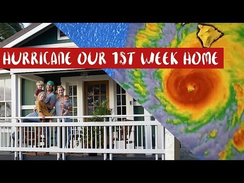 HURRICANE LANE OUR 1ST WEEK HOME IN HAWAII!?!