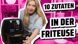 10 Zutaten Challenge I Leckere Chili Cheese Fries 🍟