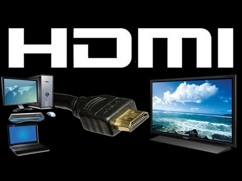 Connect Computer to TV With HDMI With AUDIO/Sound