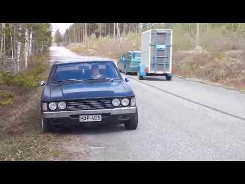 Ford Granada Coupe Burnout