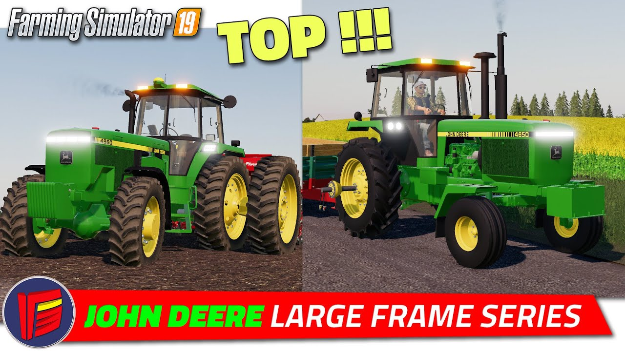 fs19  john deere large frame series tractor  review