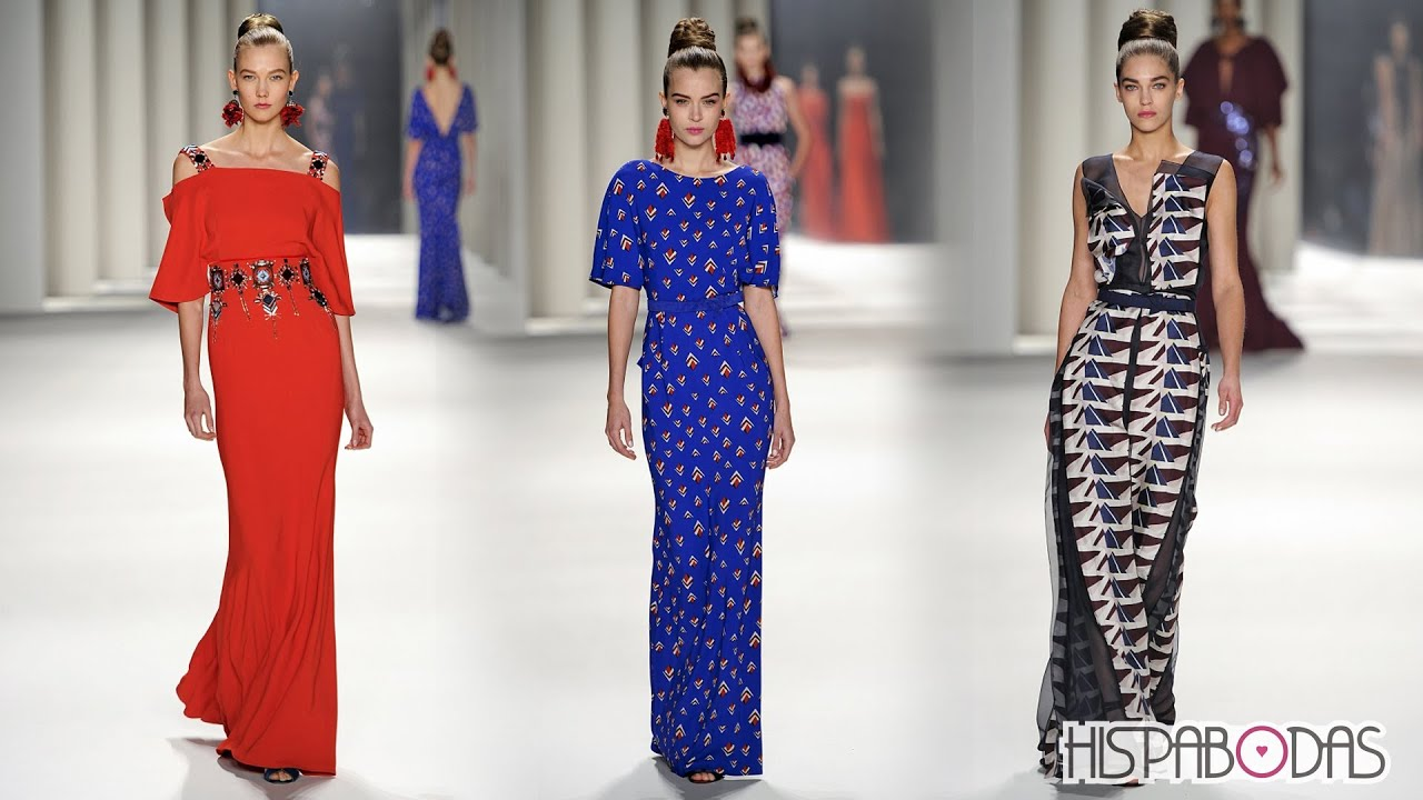 Carolina herrera vestidos de noche 2014