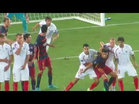 Barcelona vs Sevilla uefa Super Cup 2015 ( tbilisi 5-4 )         ►DuDa◄